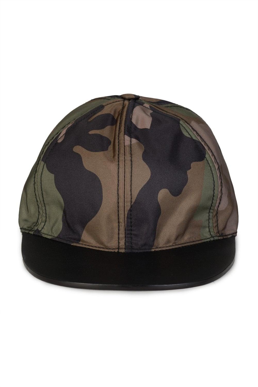 5ea4b6b7c04 VALENTINO Valentino Camouflage Baseball Cap - Clothing from Circle ...