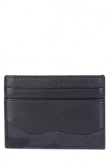 Valentino Garavani Camouflage Card Holder Black