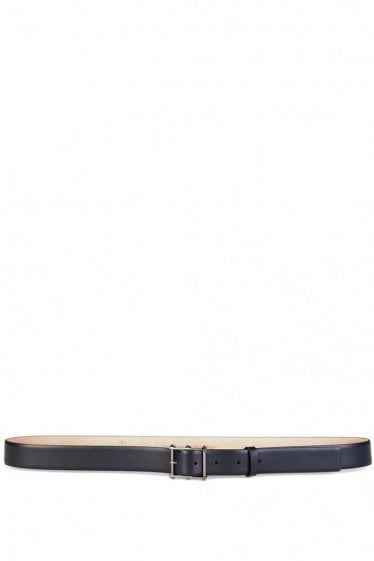 Valentino Garavani Leather Belt Black