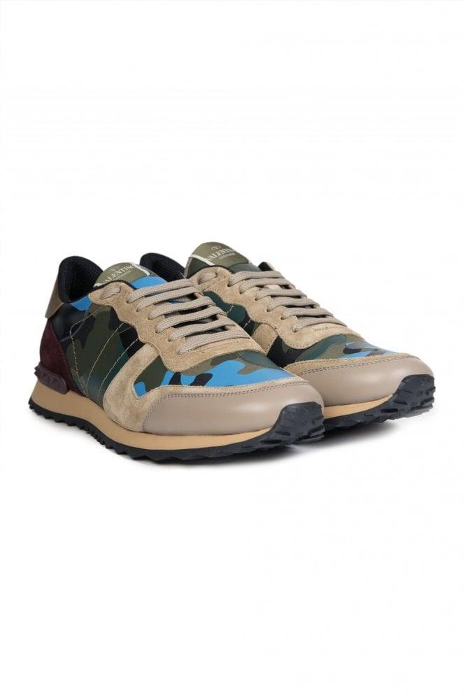 For Boys Valentino Garavani Metallic Rockstud Sneaker Metallic