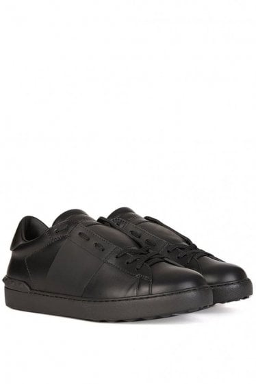 Valentino Garavnai Open Band Sneakers Black