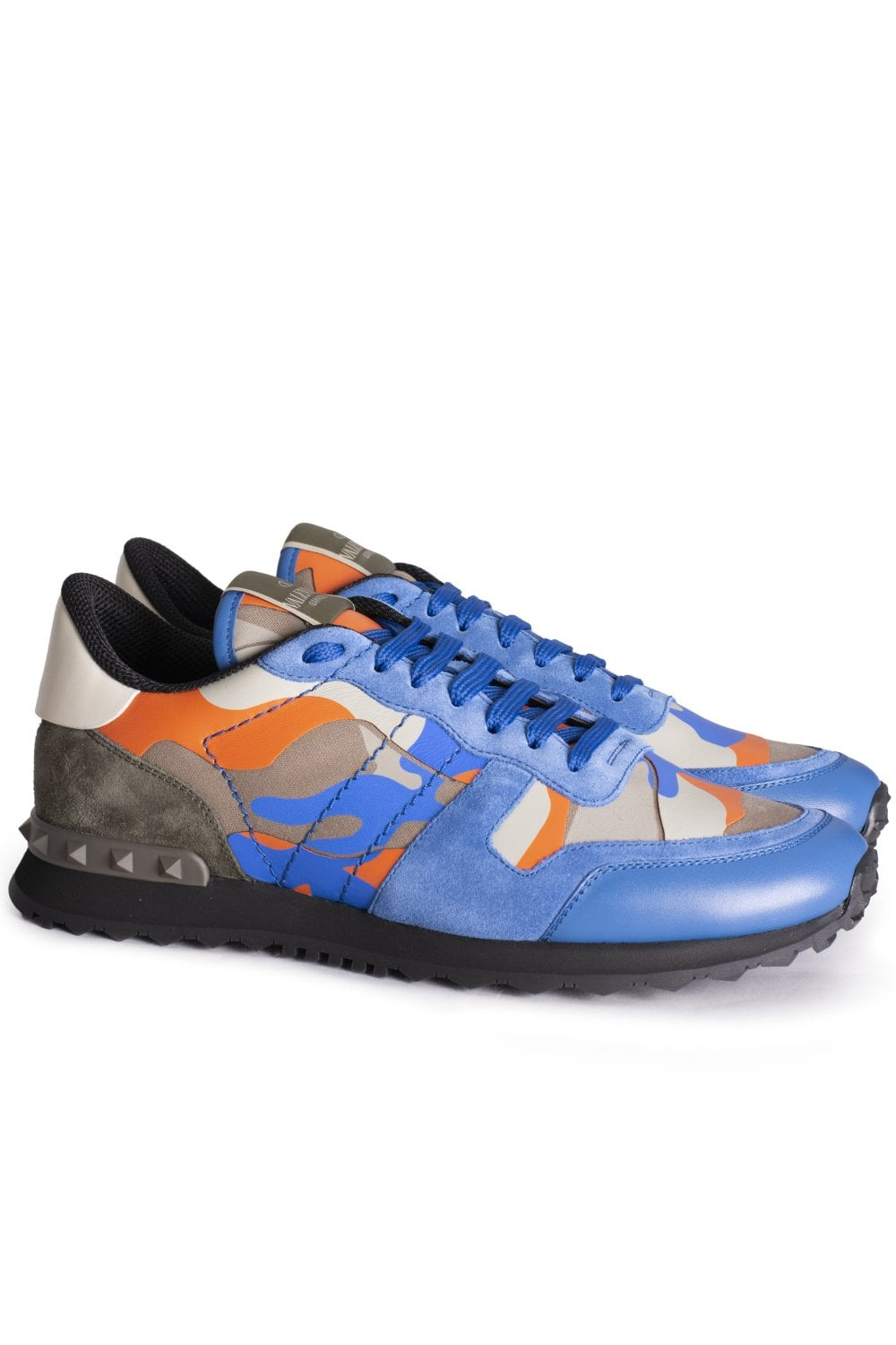 26e6b960eb0d0 VALENTINO Valentino Rockrunner Camouflage Sneakers - Footwear from ...