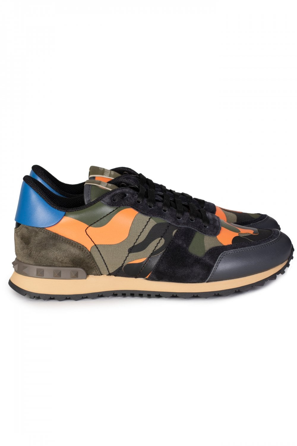d49d4ce404a40b VALENTINO Valentino Rockrunner Camouflage Sneakers - Clothing from ...