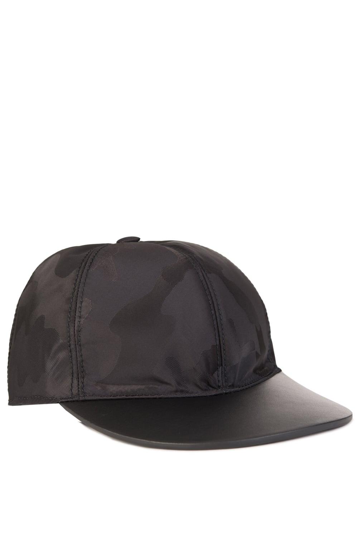 Valentino Tonal Camouflage Baseball Cap Black 5e1dc12ee122