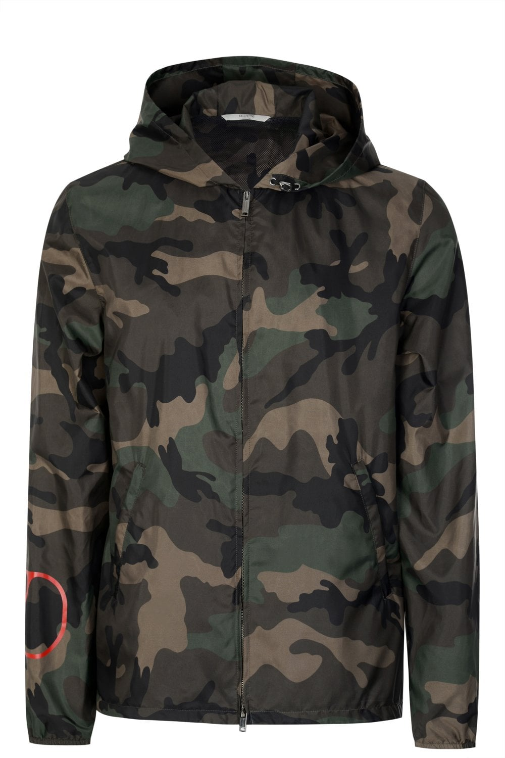 various kinds of buying now sneakers V Logo Camouflage Windbreaker Jacket