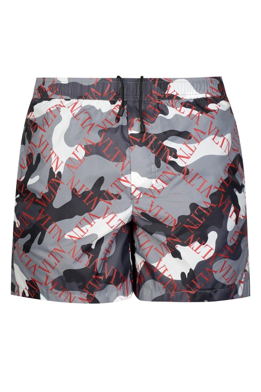 ad52a3dade VALENTINO Valentino VLTN Camouflage Swim Shorts - Uncategorised from Circle  Fashion UK