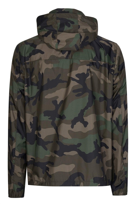 ff0123c2118da VALENTINO Valentino VLTN Camouflage Windbreaker Jacket - Clothing ...
