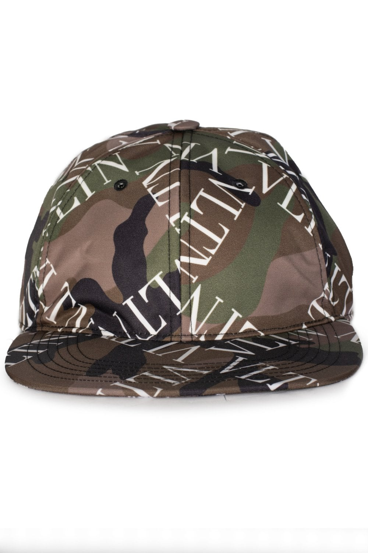 VALENTINO Valentino VLTN Grid Camouflage Baseball Cap - Accessories ... 52d17d0ced5f