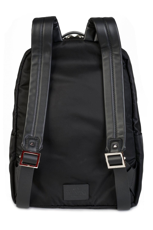 VALENTINO VLTN Logo Backpack Black - Clothing from Circle Fashion UK d56a458b7e4b