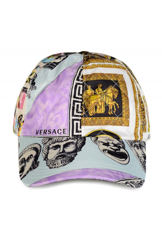 ec8e721b5a3 VERSACE Versace Balletto Teatro Cinema Silk Cap - Clothing from ...