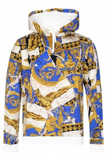 Versace Baroque Hooded Sweatshirt