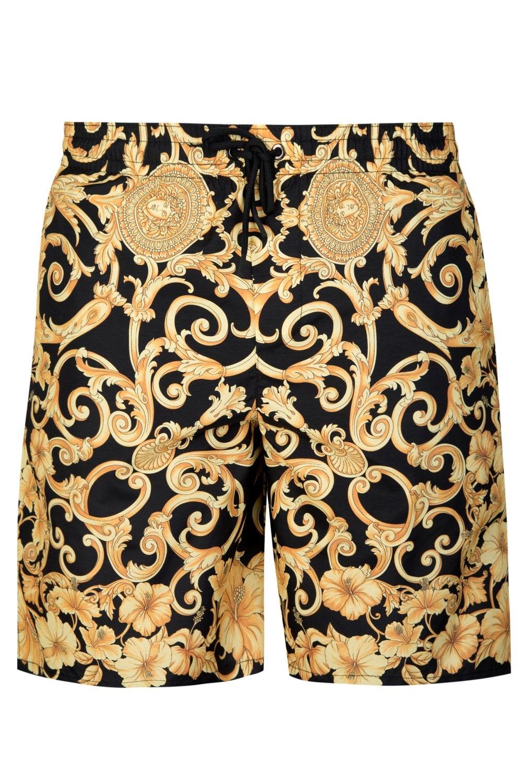 e9d53e416eced VERSACE Versace Baroque Print Mid Length Swim Shorts - Clothing from Circle  Fashion UK