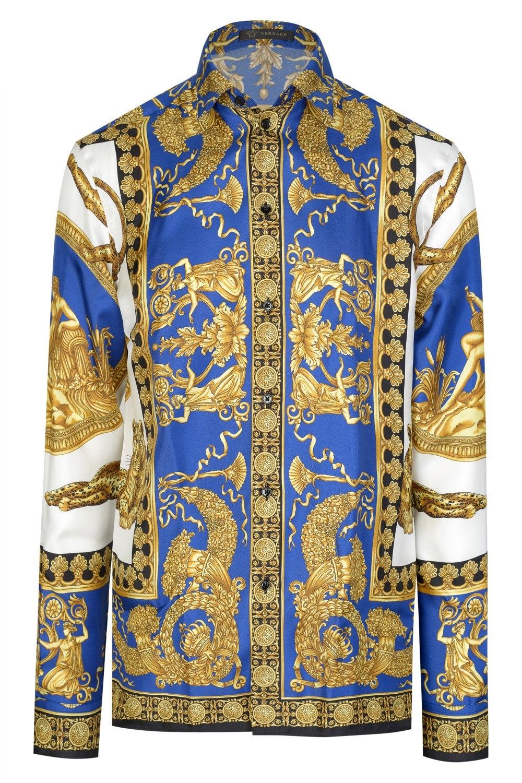 VERSACE Versace Baroque Print Shirt - Clothing from Circle ...