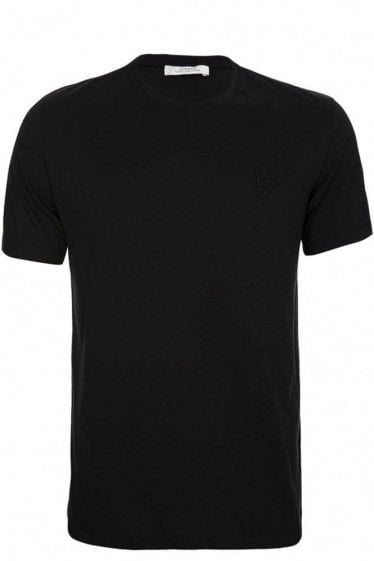 Versace Collection Half Medusa T-shirt Black