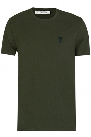 Versace Collection Half Medusa T-Shirt Khaki