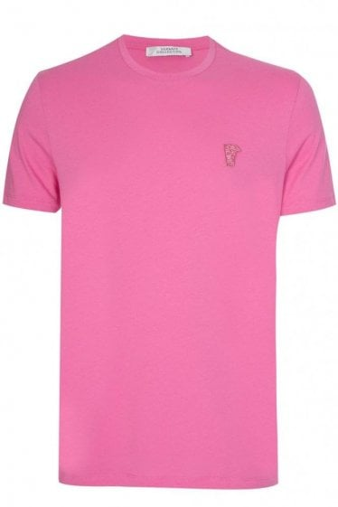 Versace Collection Half Medusa T-shirt Pink
