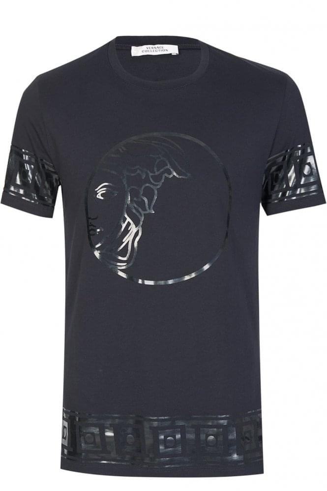 VERSACE Collection Medusa T-Shirt Black