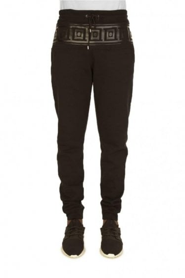 Versace Combination Item Joggers Black