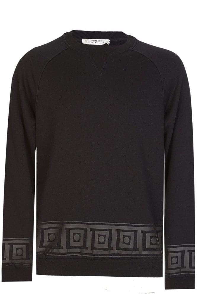 VERSACE Combination Item Sweatshirt Black