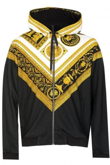 Versace Cornici Hooded Sweatshirt