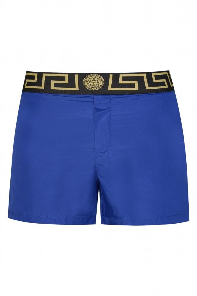 Versace Greca Print Swim Shorts