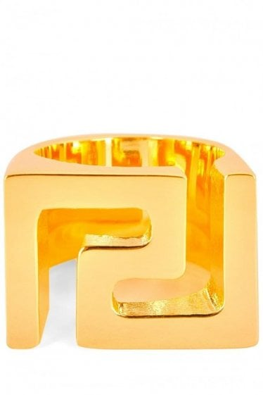 Versace Iconic Logo Ring