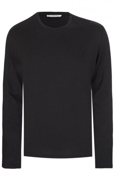 Versace Long Sleeved Top Black