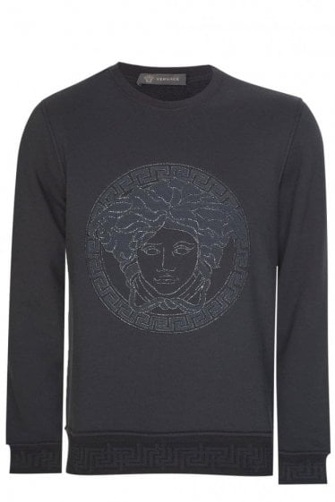 Versace Mainline Active Sweatshirt Black