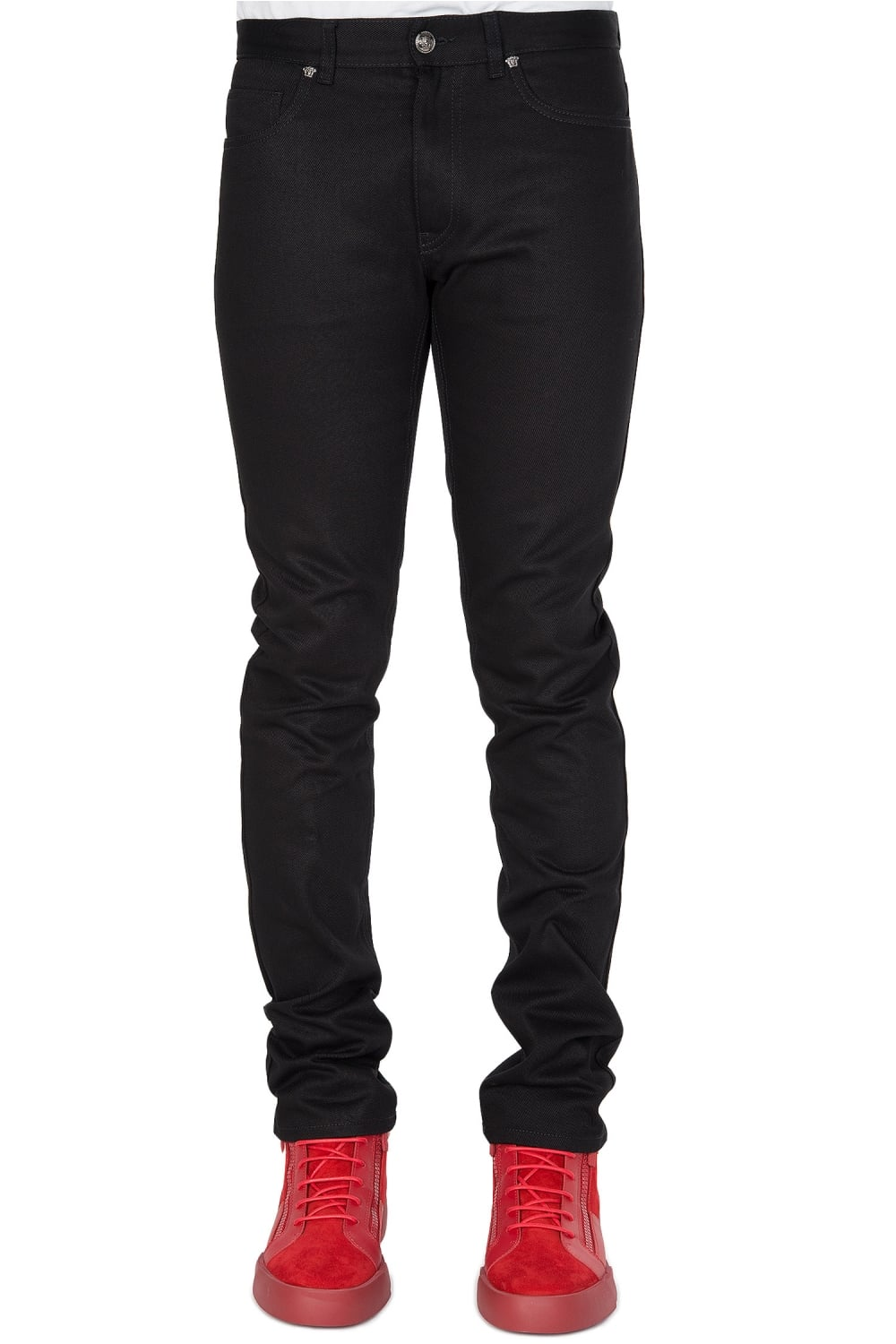 VERSACE Versace Mainline Black Jeans - VERSACE from Circle Fashion UK