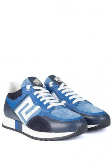 Versace Mainline Runner Sneakers Blue