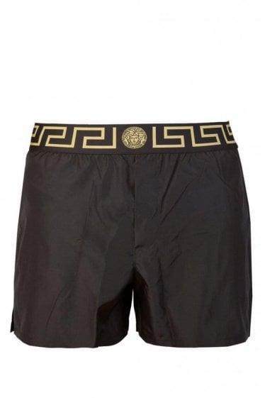 Versace Mainline Swim Shorts Black