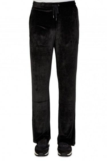 Versace Mainline Velvet Combination Joggers
