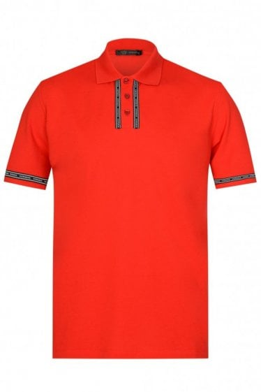 Versace Placket Polo Shirt