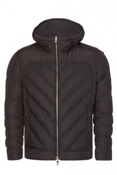 Versace Real Down Jacket Black
