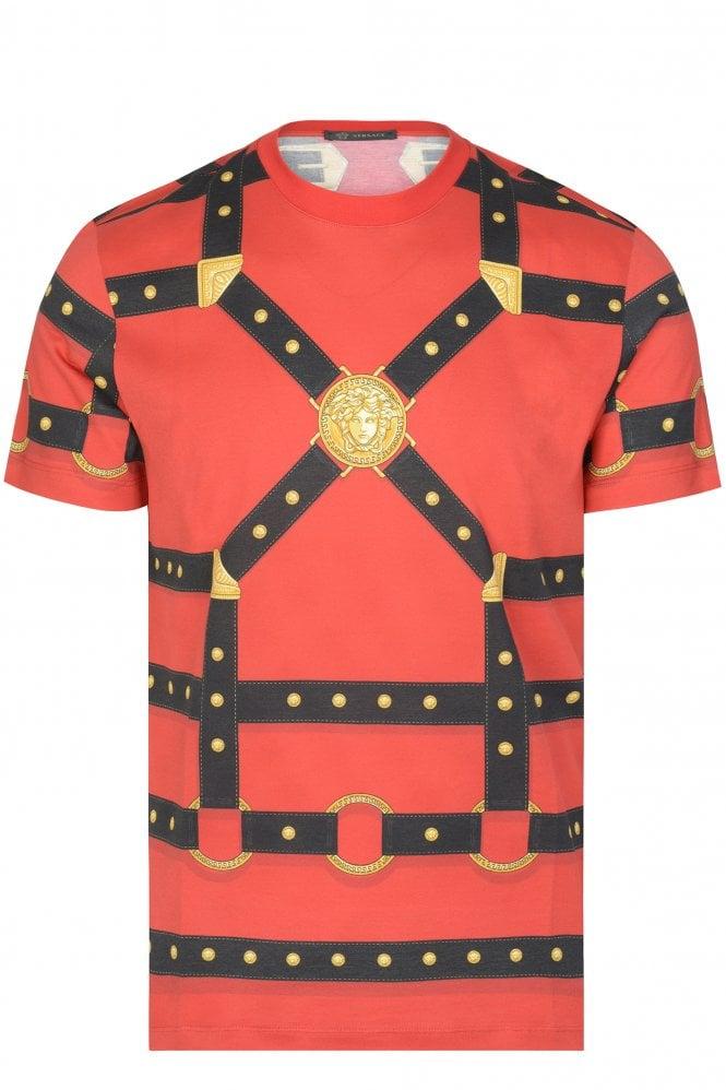 Versace Strap Logo T-shirt