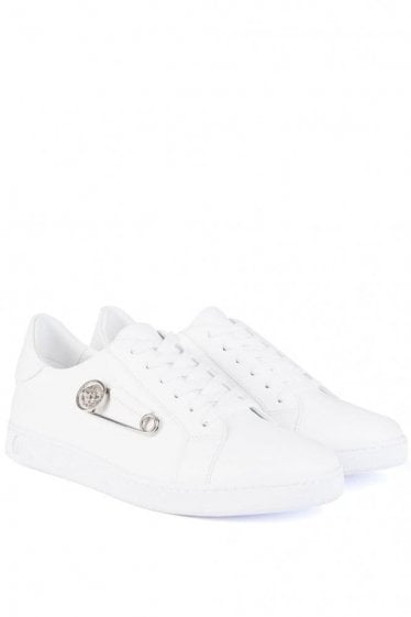 Versace Versus Safety Pin Sneakers White
