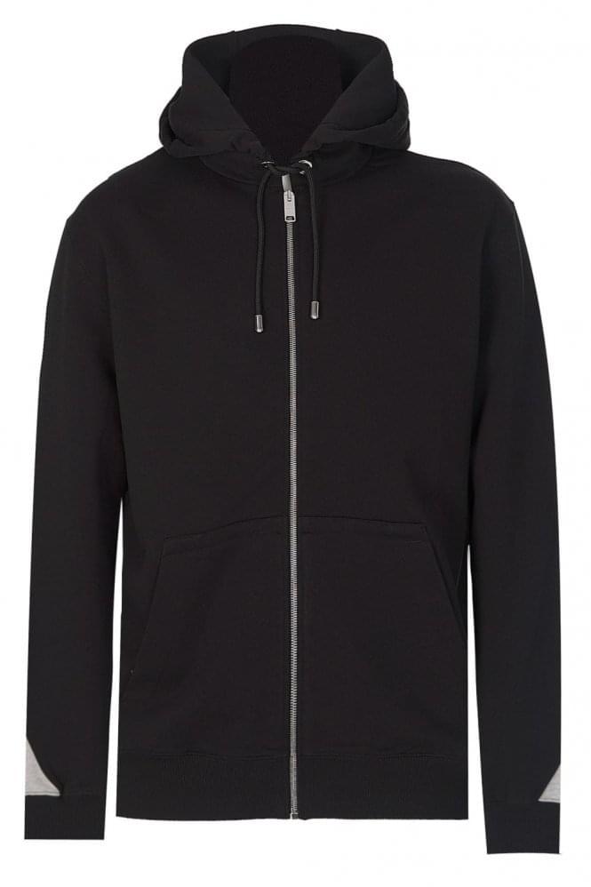 Versace Versus Tape Logo Hooded Sweatshirt
