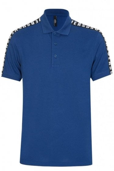 Versace Versus Tape Polo Blue
