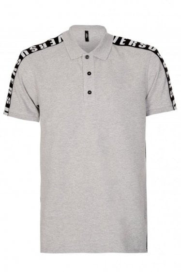 Versace Versus Tape Polo Grey