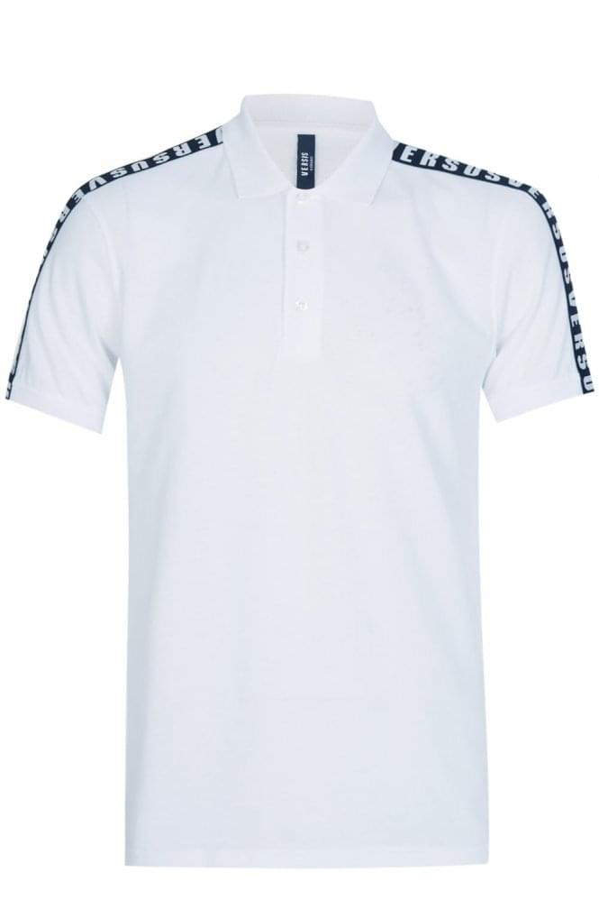 versace polo white