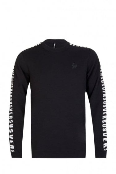 Versace Versus Tape Sweatshirt Black