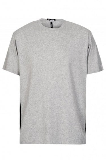 Versace Versus Tape T-Shirt Grey