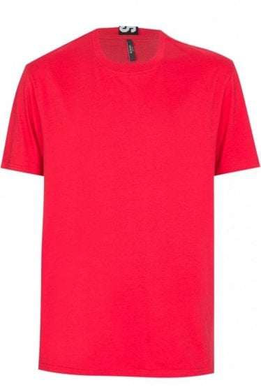 Versace Versus Tape T-Shirt Red