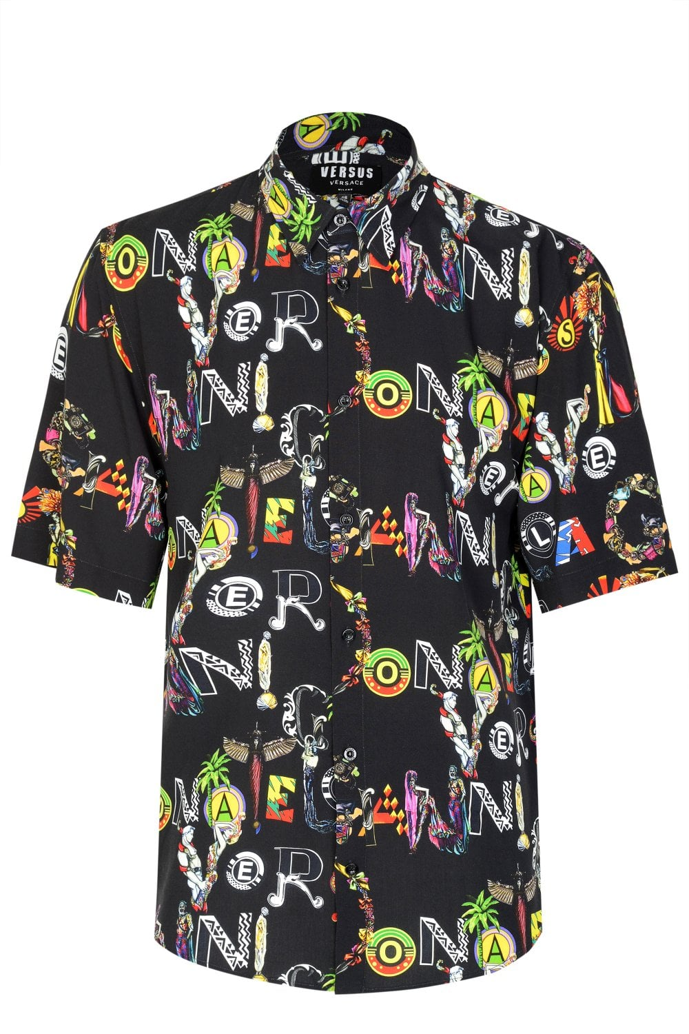 4a8e4c991d VERSACE Versus Versace Gianni All Over Print Shirt - Shirts from ...