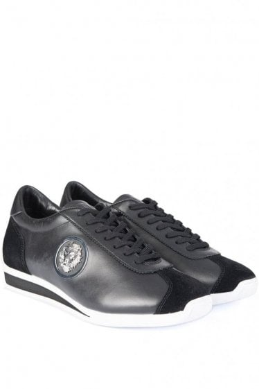 Versus Versace Lion Head Trainers Black