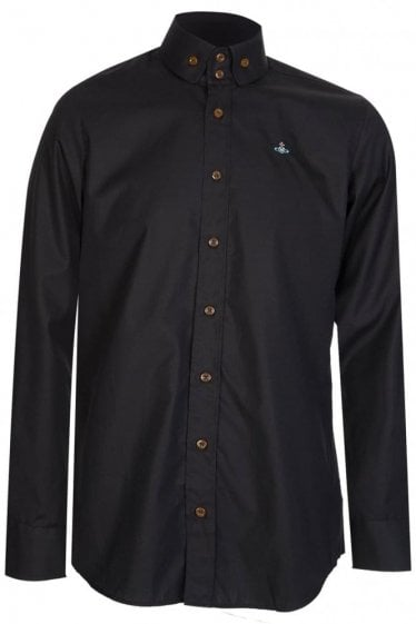 Vivienne Westwood 2 Button Krall Shirt Black