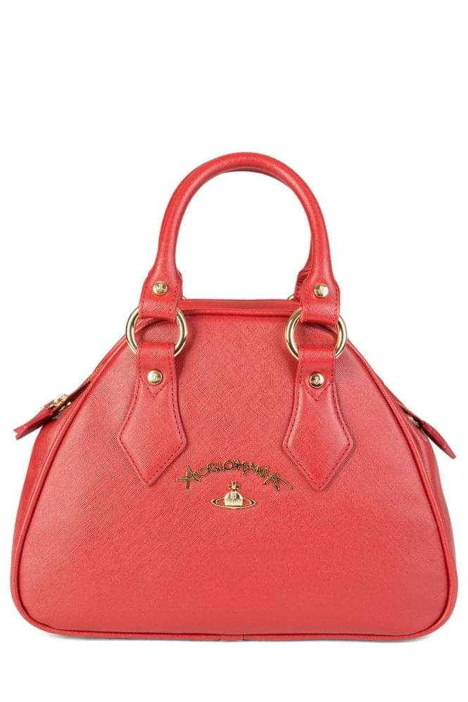 VIVIENNE WESTWOOD Anglomania Red Divina Bag