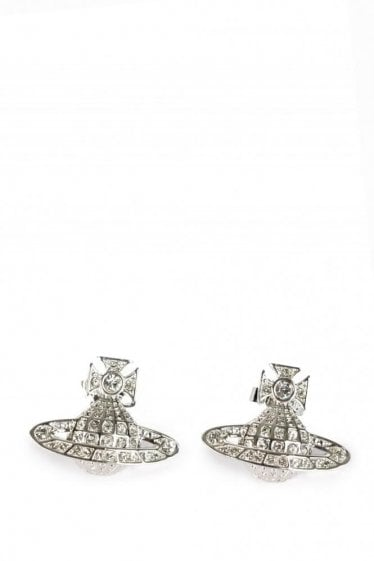 Vivienne Westwood  Bas Relief Earnings Silver