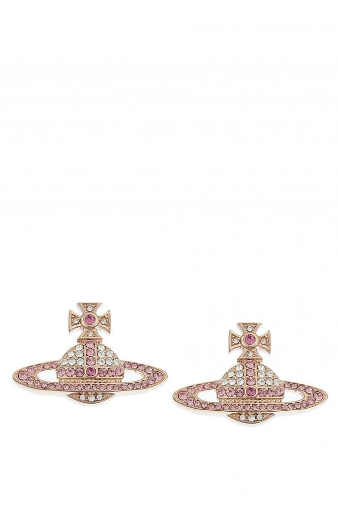 VIVIENNE WESTWOOD Kika Earrings Rose Gold
