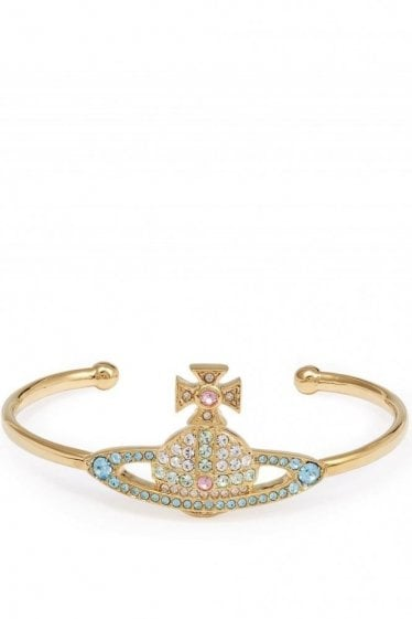 Vivienne Westwood Kika Open Bangle Gold